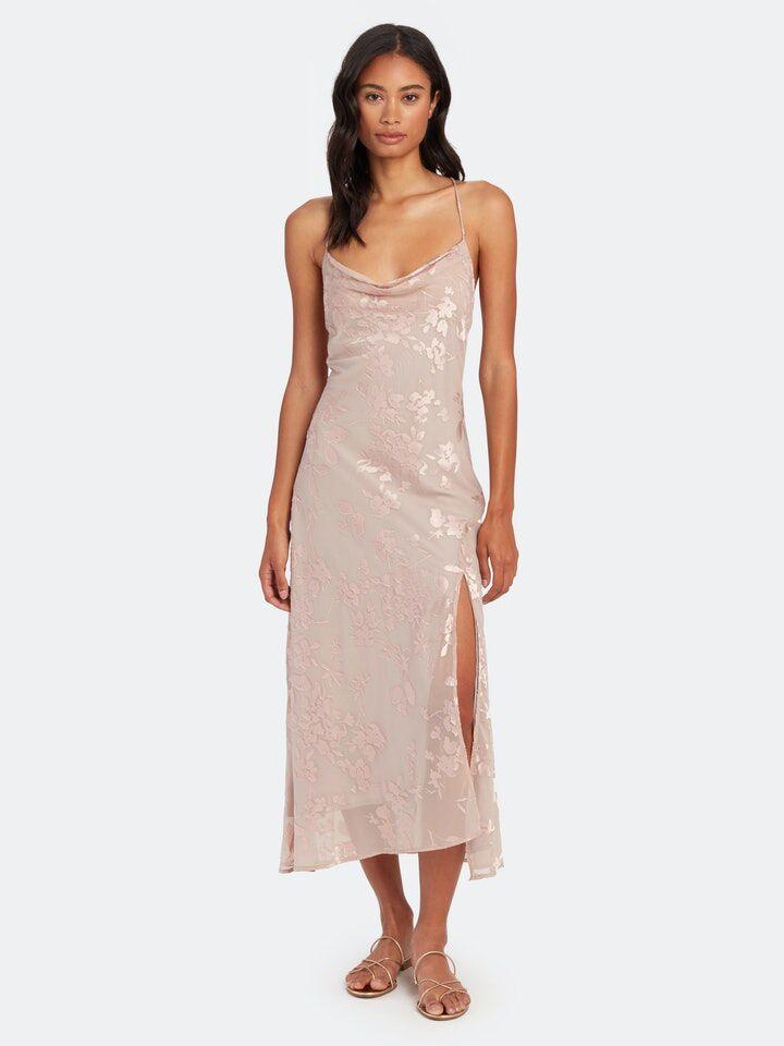 Verishop Gaia floral midi dress