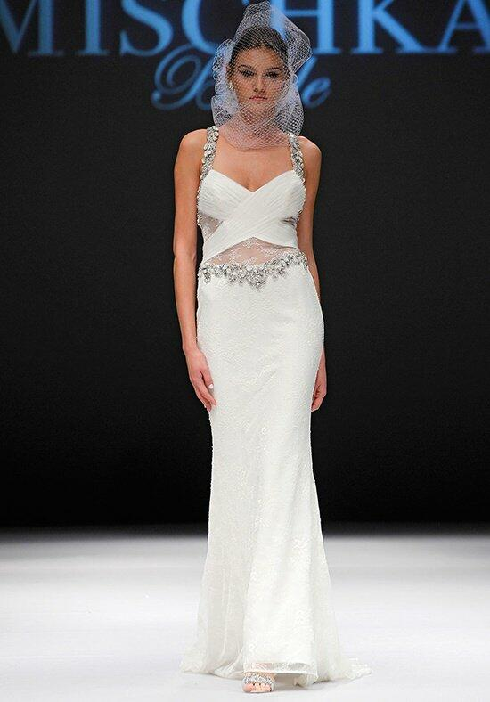 Badgley Mischka Bride Wood Wedding Dress photo