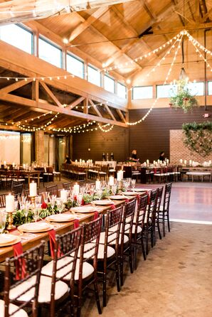 Reception at the Sutherland Estate in Wake Forest, North Carolina