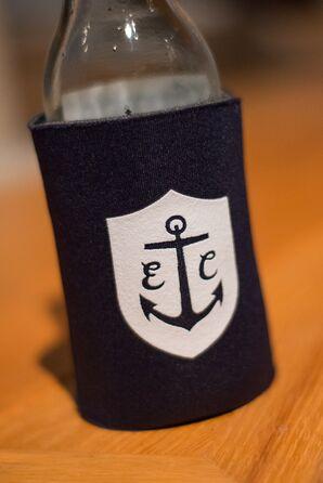 Monogrammed Nautical Drink Koozies