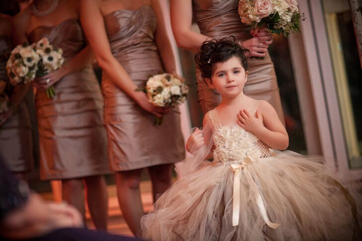Jessica found this precious flower girl dress by designer AloraSafari from Etsy.