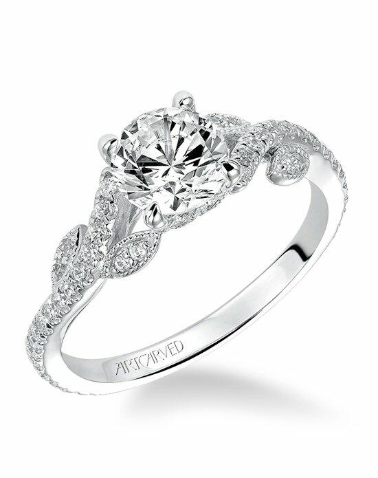 ArtCarved 31-V523ERW Engagement Ring photo