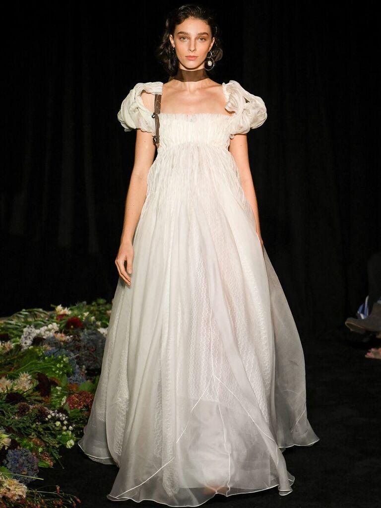 Vintage Empire Wedding Dresses
