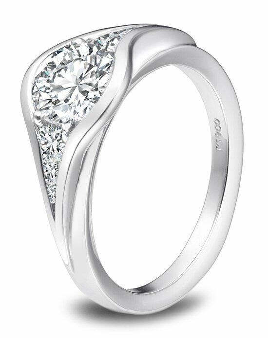 Platinum Must Haves Sholdt Platinum and  Diamond Ring Engagement Ring photo
