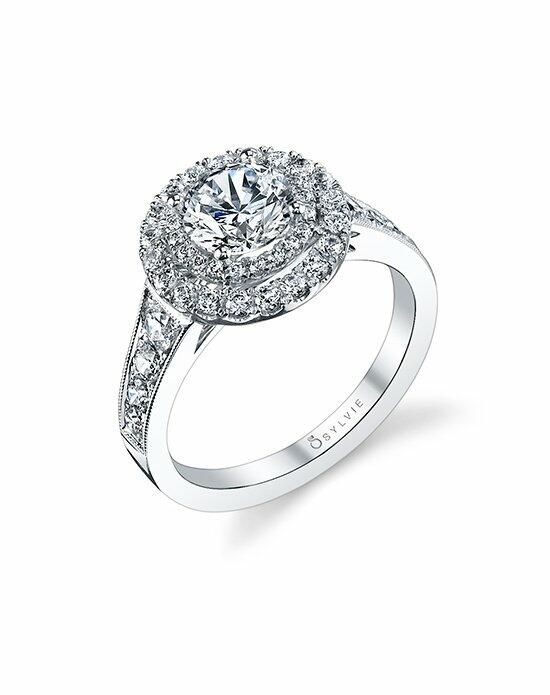 Sylvie Collection S1119 Engagement Ring photo