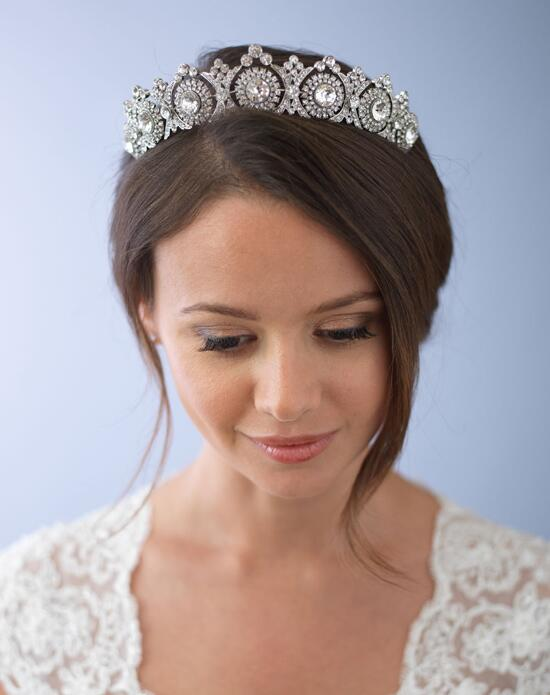 USABride Joelle Vintage Crown TI-3286 Wedding Tiaras photo
