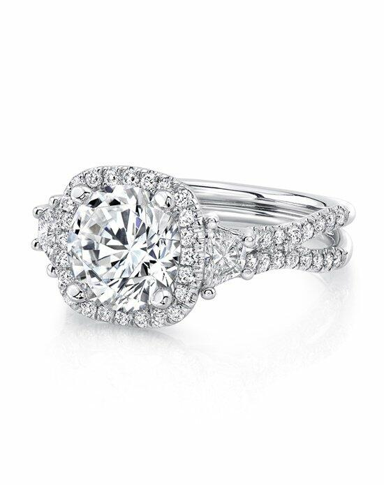 Uneek Fine Jewelry LVS983CU-8.2RD Engagement Ring photo