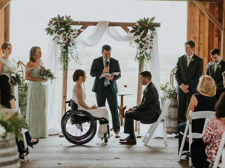 Farm wedding venue in Powhatan, Virginia.