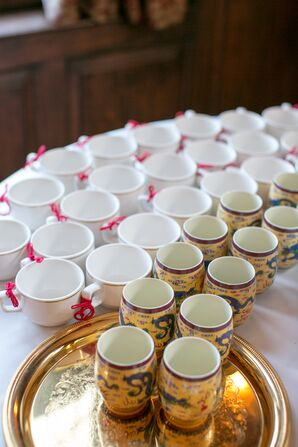 Traditional Chinese Tea Ceremony Set Up