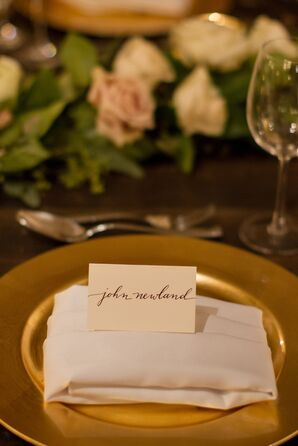 Hand Calligraphed Place Cards