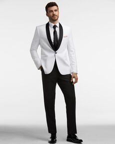 Men's Wearhouse Calvin Klein White Dinner Jacket Tux Tuxedo