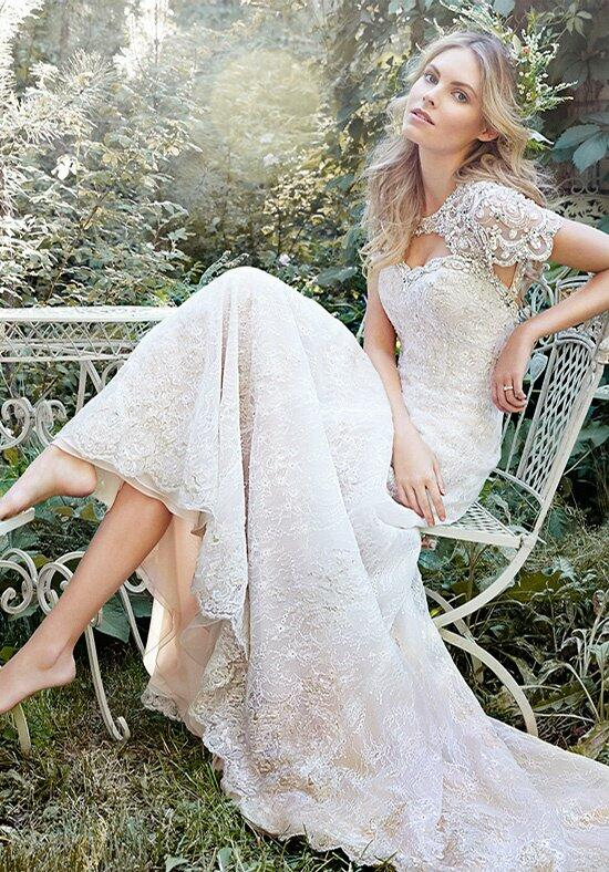 Desiree Hartsock with Maggie Sottero Daphne Wedding Dress photo