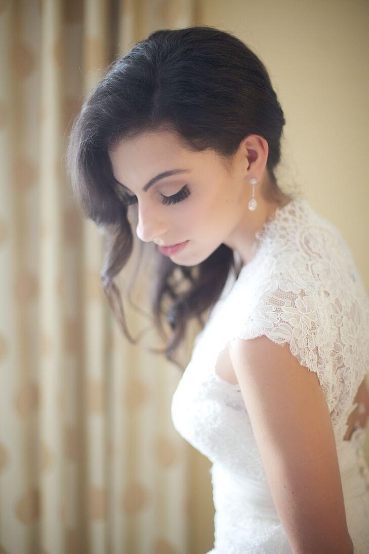 Natural, Dramatic Bridal Makeup Look