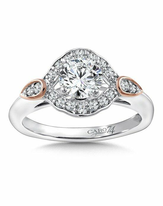 Caro 74 CR819WP Engagement Ring photo
