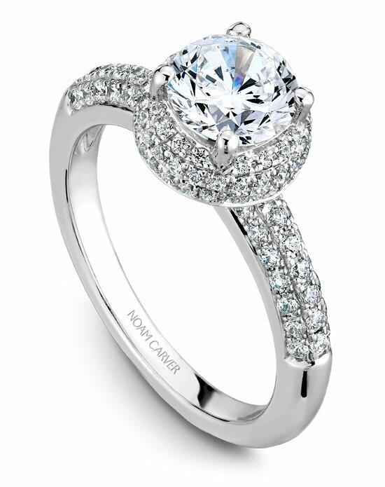 Noam Carver B100-02WS-100A Engagement Ring photo