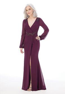 MGNY 72203 Black,Purple,Gray Mother Of The Bride Dress