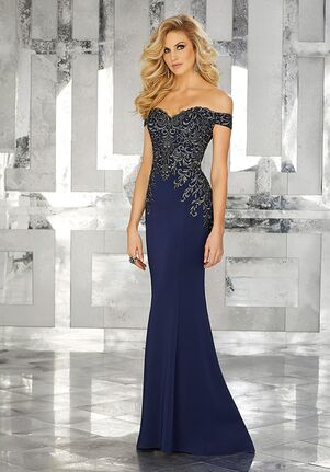 MGNY 71616 Red,Blue Mother Of The Bride Dress