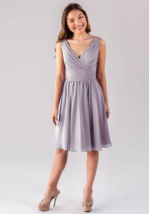 Kennedy Blue Faith V-Neck Bridesmaid Dress
