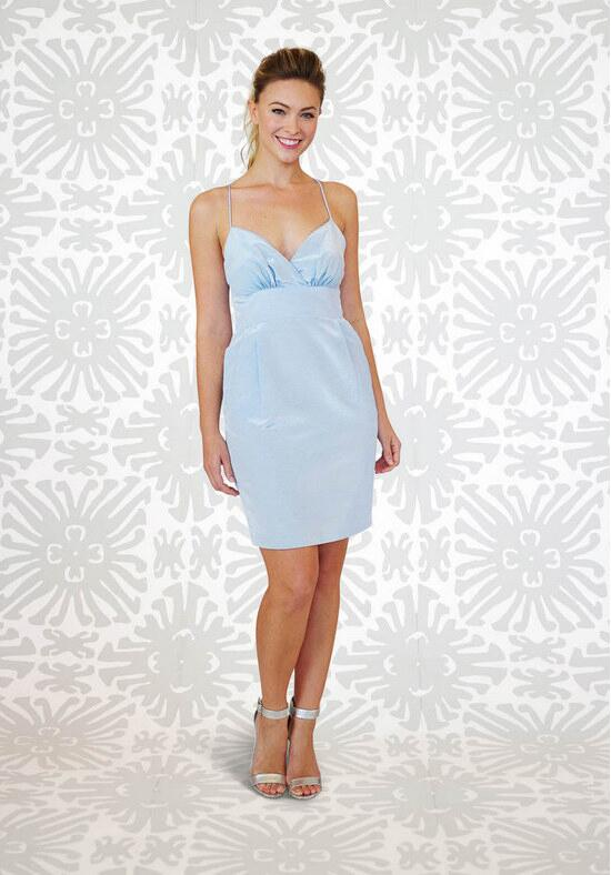LulaKate Jacqueline Short Bridesmaid Dress photo