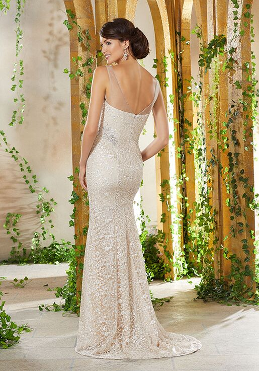 MGNY 71936 Champagne,Silver,Gray,Red,Gold Mother Of The Bride Dress