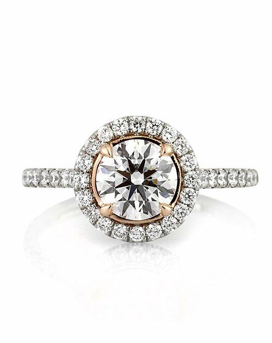Mark Broumand 1.74ct Fancy Faint Pink Round Brilliant Cut Diamond Engagement Ring Engagement Ring photo
