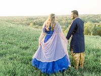 Blue themed wedding in Milwaukee, Wisconsin
