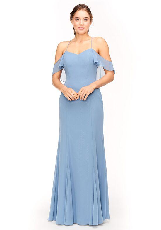 Bari Jay Bridesmaids 1963 Off the Shoulder Bridesmaid Dress