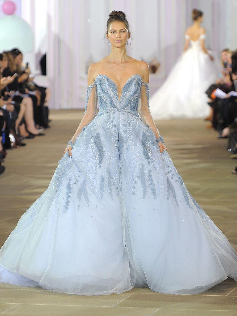 18 Dreamy Blue Wedding Gowns
