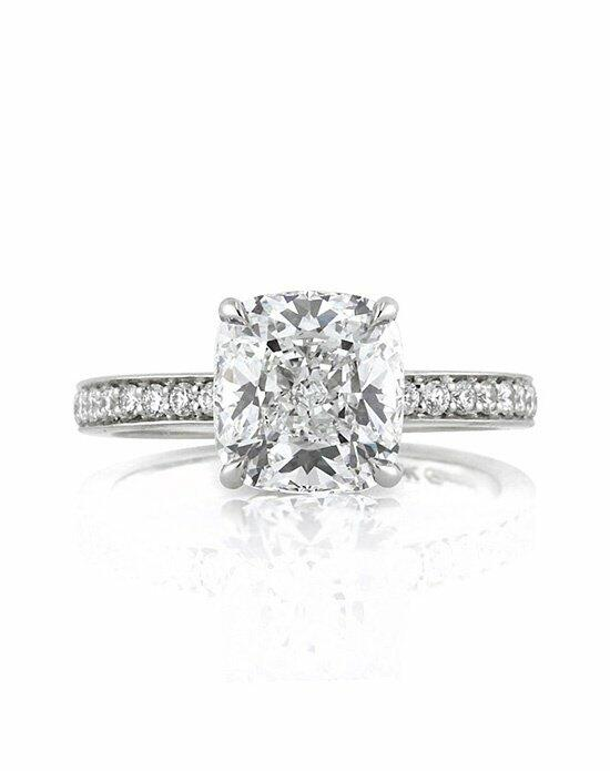 Mark Broumand 3.63ct Cushion Cut Diamond Engagement Ring Engagement Ring photo