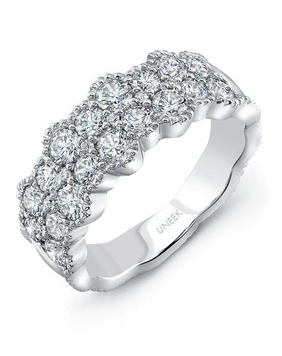 Uneek Fine Jewelry The Picot Diamond Band/LVBLG0489W Wedding Ring photo