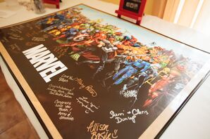 Marvel Comic Book Themed Guest Book