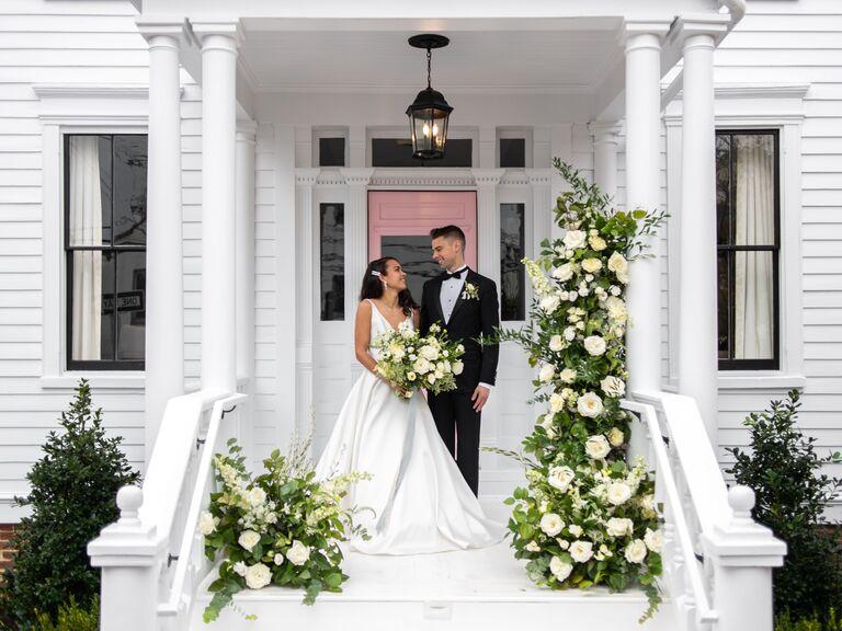 Wedding venue in Annapolis, Maryland.