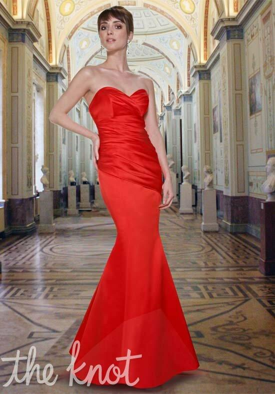 Davinci bridesmaids 9263 bridesmaid dress the knot for Da vinci red wedding dress