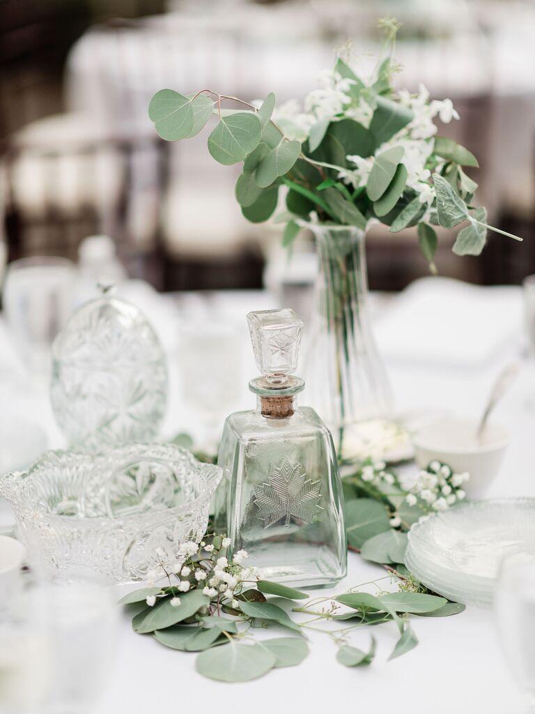 Wedding Centerpieces eucalyptus