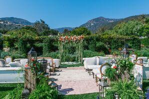 Bohemian Lavender Garden Wedding