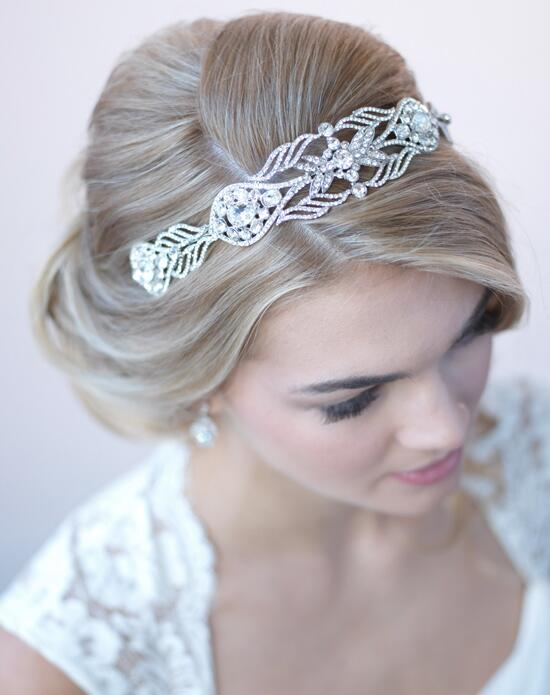 USABride Clara Antique Silver Headband Wedding Headbands photo
