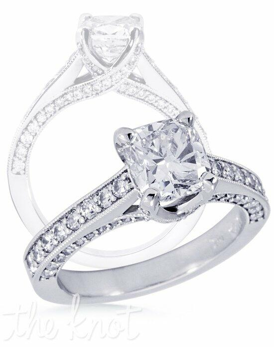 Diamond Ideals DIN1021Cush Engagement Ring photo