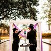 Mardi Gras and Rainbows Inspired This Glam Wedding at Fort Conde Inn in Mobile, Alabama