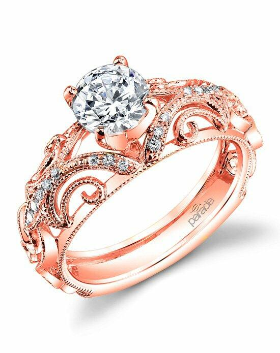 Parade Design Style R3072 from the Hera Collection Pink Engagement Ring photo