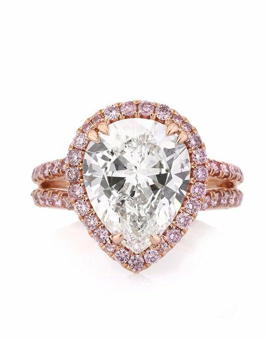 Mark Broumand 4.37ct Pear Shaped Diamond Engagement Ring Engagement Ring photo