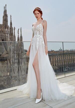 Demetrios 8100 A-Line Wedding Dress