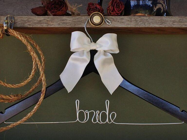 wedding dress hanger