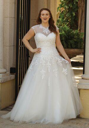 Sincerity Bridal 44050 Ball Gown Wedding Dress