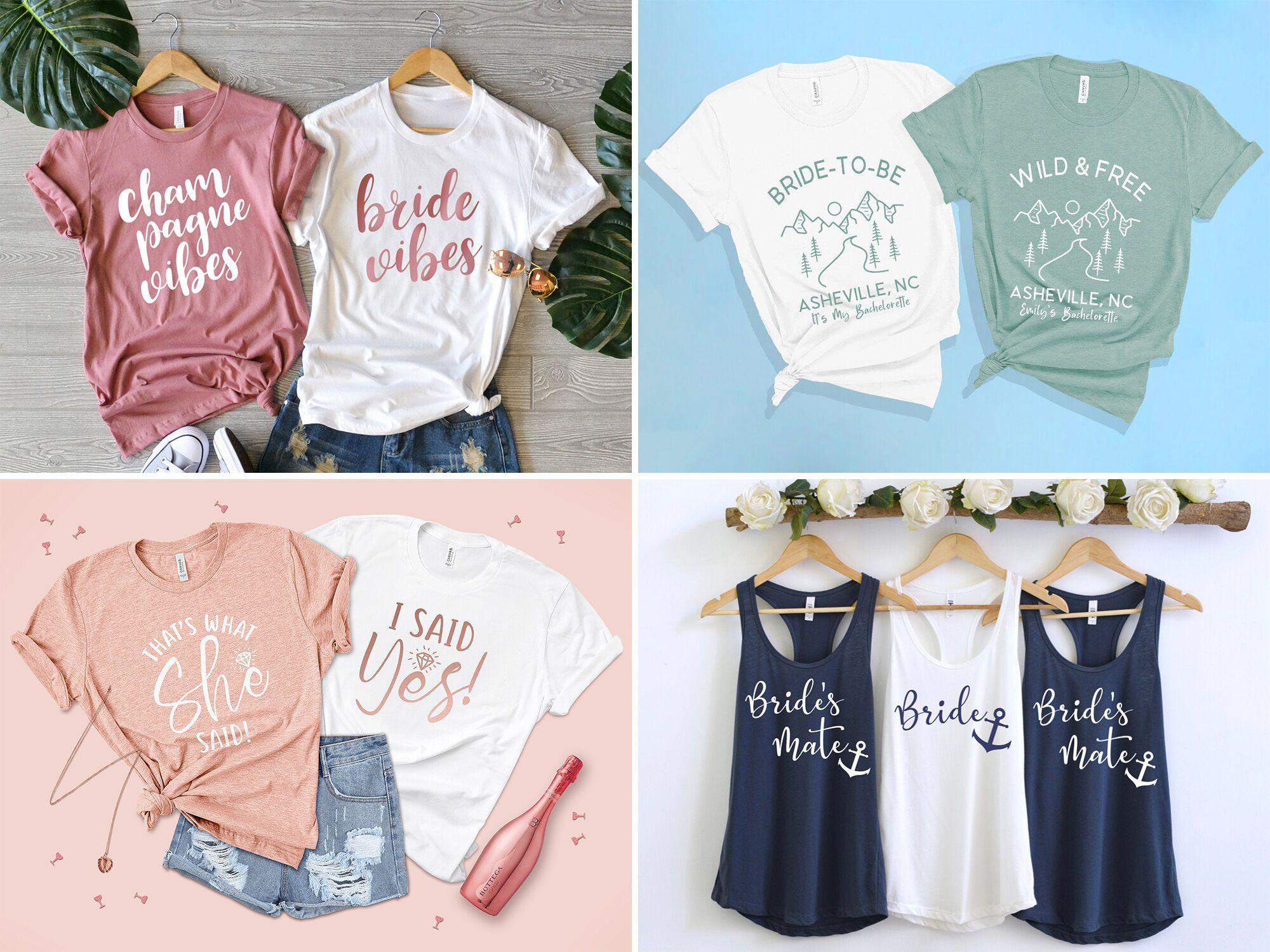 Bridal Shower Gift Mimosa Bachelorette Sweatshirt Bachelorette Shirt Wine Sweatshirt Champagne Shirt Rose All Day Wine Shirt