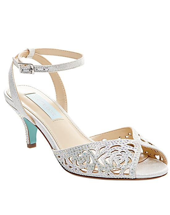 Blue by Betsey Johnson SB-RAVEN-silver Wedding Shoes photo