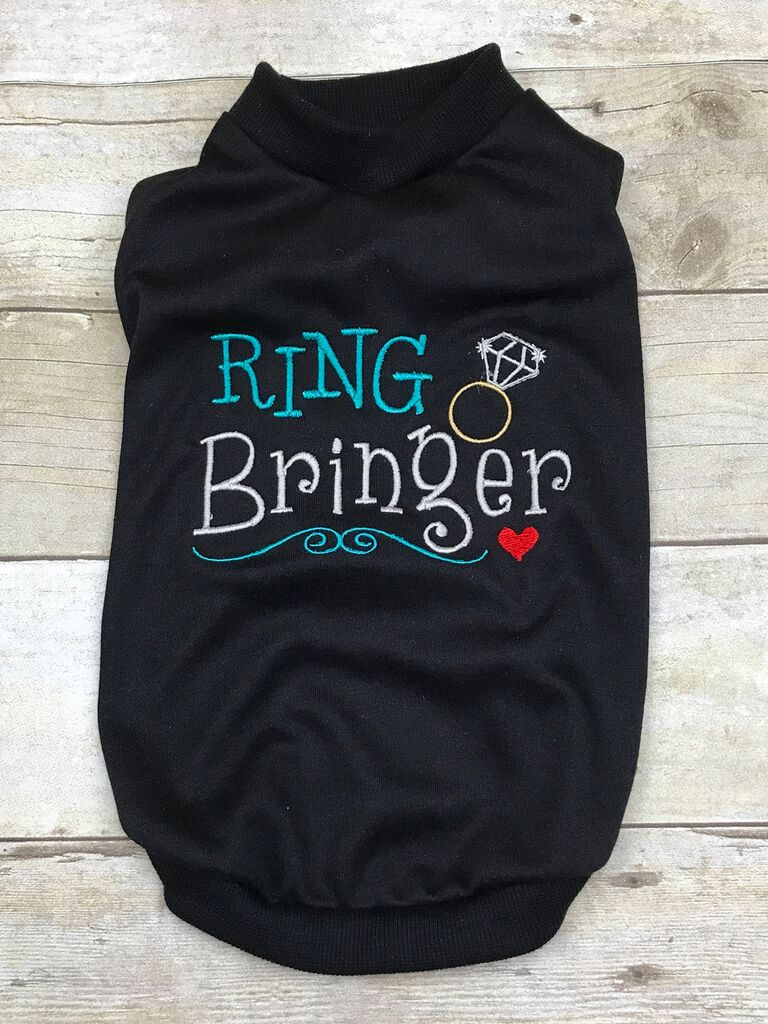 Dog ring bearer outfit