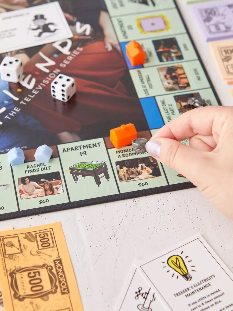 Friends themed Monopoly game
