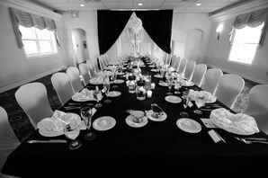 Head Table at Reception Venue