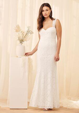 Lulus Rosetta White Lace Maxi Dress Mermaid Wedding Dress