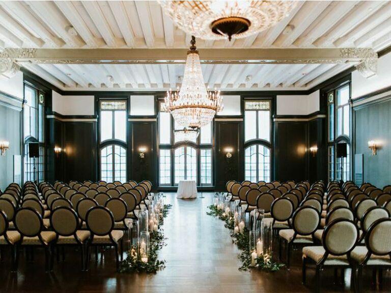 Chicago Athletic Association Hotel wedding venue in Chicago, Illinois.
